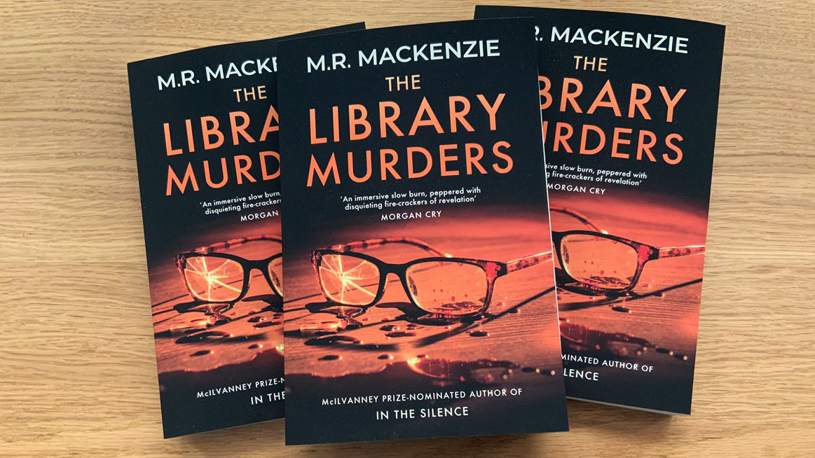 The Library Murders — signed paperbacks now available!
